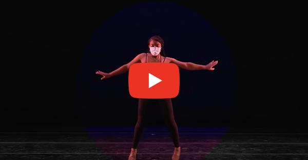 Screenshot of a dancer