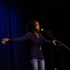 Photo of spoken word artist Kirei Turner