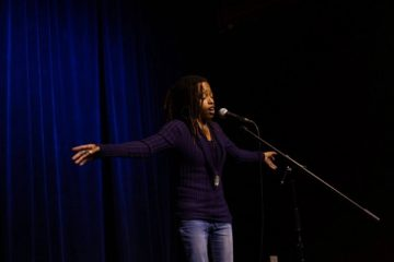 Photo of spoken word artist Kirei Turner