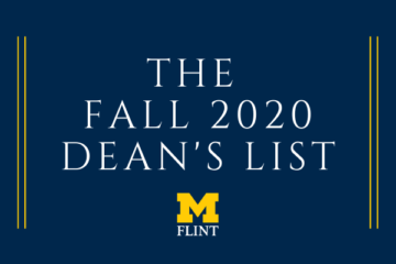 Fall 2020 Dean's List graphic