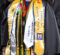 Photo of graduate at commencement ceremony
