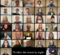 a screenshot of 70 singers compiled together