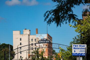 Photo of downtown Flint