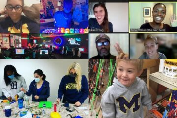 A collage of photos from UM-Flint24 submissions